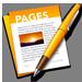 Pages traitement de texte sur Mac